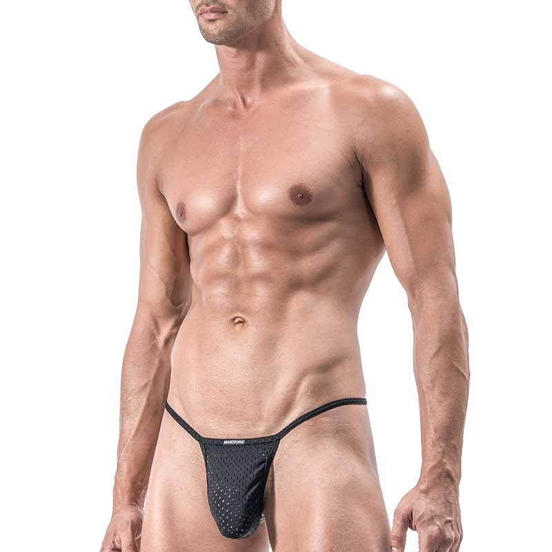 MANSTORE STRING Hot CATENA SLIM Mesh M551 Kette black