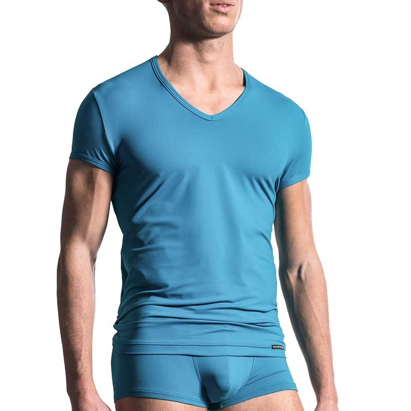 MANSTORE T-SHIRT Regular ALL DAY Athletik M200 Stretch indigo