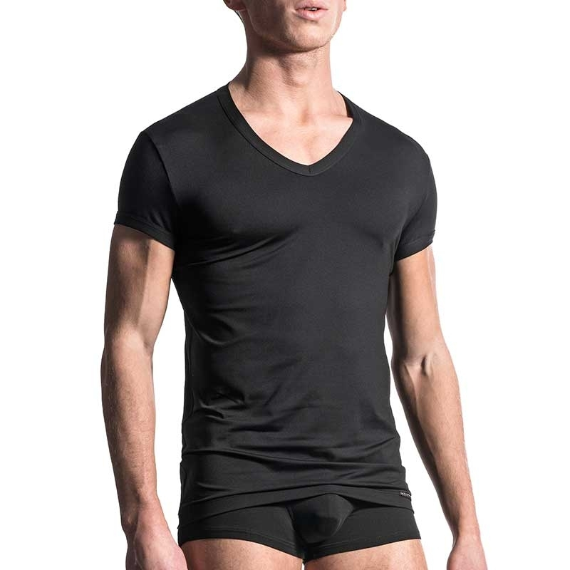 MANSTORE T-SHIRT Regular ALL DAY Athletik M200 Stretch black