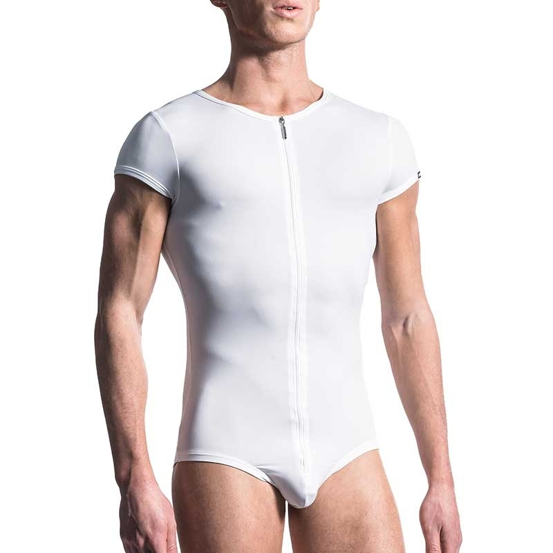 MANSTORE BODY Hot OLYMPIC Zip M200 Basic white