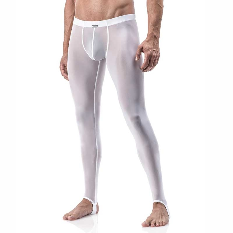 MANSTORE PANTS Regular ATHLETIC LEGGINGS Sport M101 Sexy white