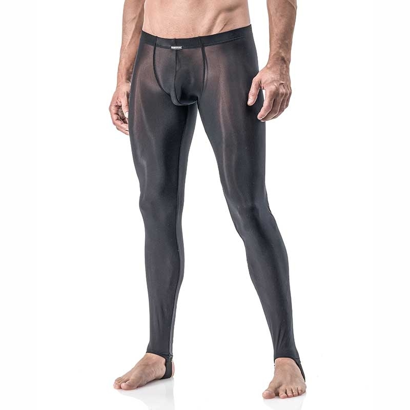 MANSTORE PANTS Regular ATHLETIC LEGGINGS Sport M101 Sexy black