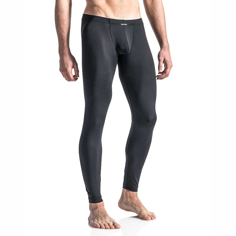 MANSTORE PANTS Regular BUNGEE LEGGINGS Basic M103 Sexy black