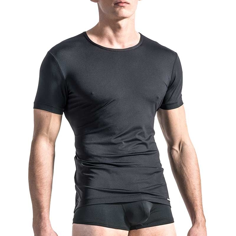MANSTORE T-SHIRT Regular CLASSIC LOOK Basic M103 Sport black