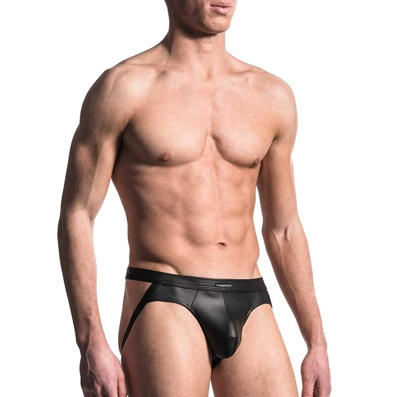 MANSTORE JOCK Hot FOLSOM LEDER Fetisch M510 Party black