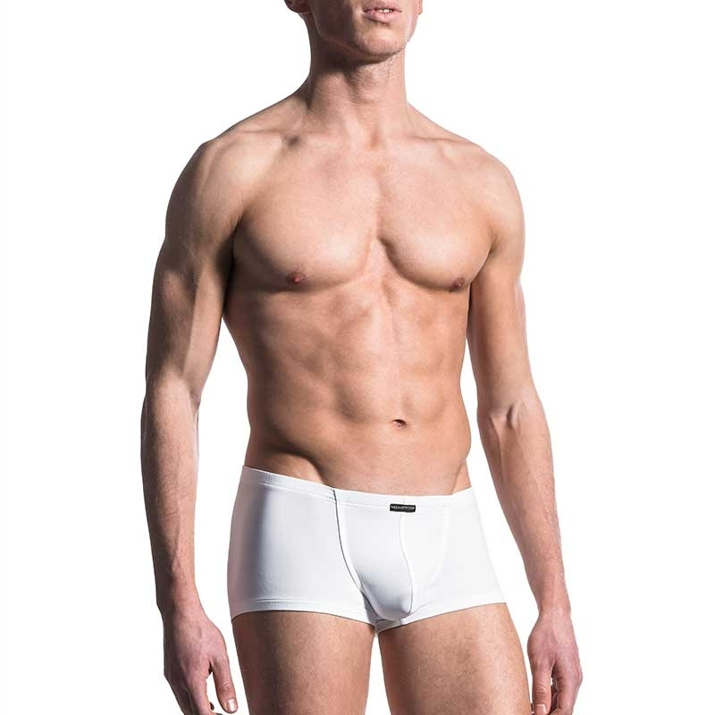 MANSTORE PANTS Regular BUNGEE BOXER Basic M200 Sport white