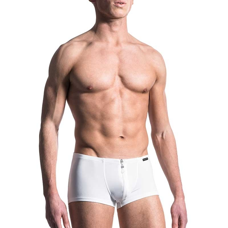 MANSTORE PANTS Regular ALL DAY BOXER Zip M200 Sport white
