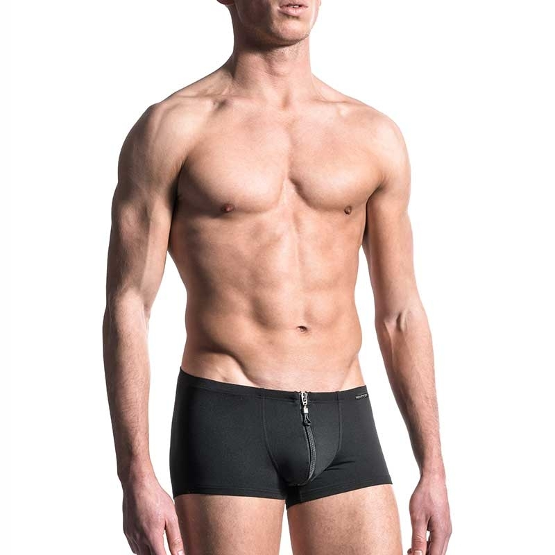 MANSTORE PANTS Regular ALL DAY BOXER Zip M200 Sport black
