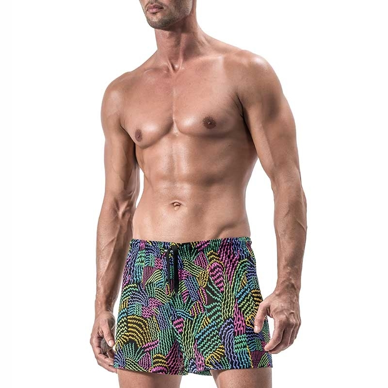MANSTORE PANTS Regular RETRO GRAFFITI BOXER Mesh M550 Sexy multicolored