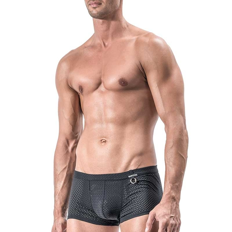 MANSTORE PANTS Regular CLASSIC MESH Backless M551 Sport black