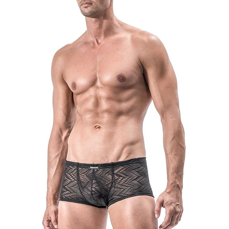 MANSTORE PANTS Regular INDIAN Mesh M552 Sexy black