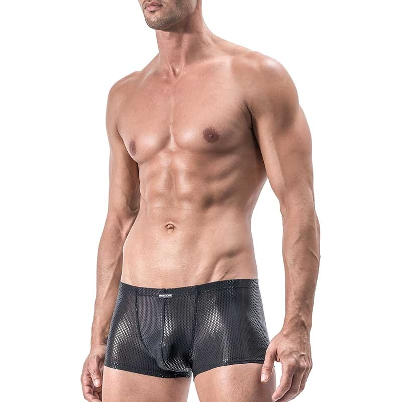 MANSTORE PANTS Hot PARTY ATTACK Glitzern M556 Club black