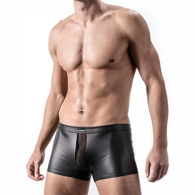 MANSTORE PANTS Hot WET PANT Fetisch M324 Mesh black