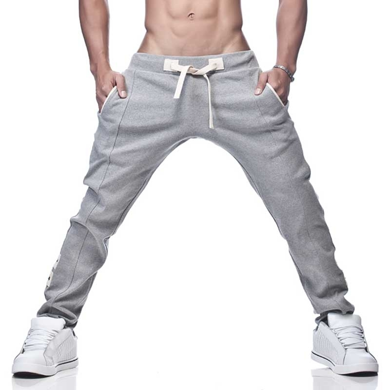 GABRIEL HOMME SWEATPANTS Regular PRACTICE Athletic GH-3-7002 Sport light grey