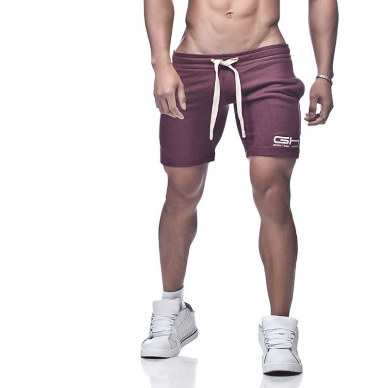 GABRIEL HOMME SHORTS Regular THOR Athletic GH-3-7007 Jogging maroon