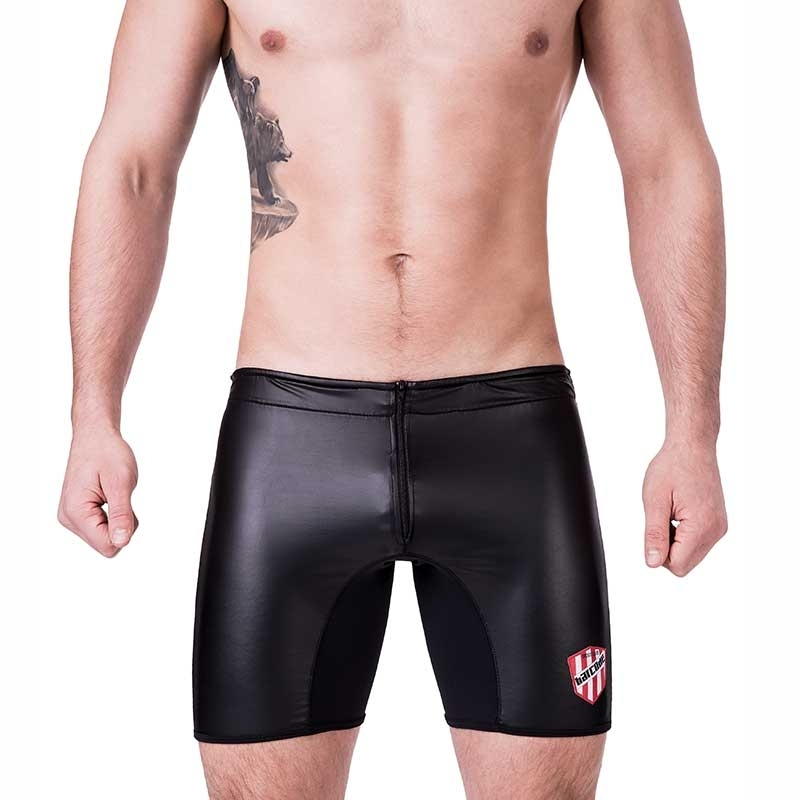 BARCODE Berlin hotPANTS Regular PAT Zip 91232 Wetlook black