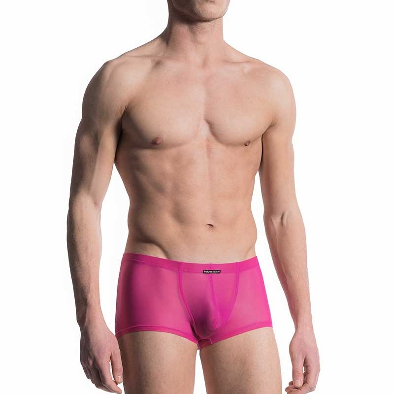 MANSTORE PANTS Regular RAINBOW Transparent M601 Sexy fuchsia