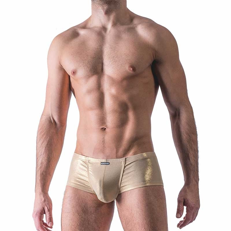 MANSTORE PANTS modern Holiday PRIDE Sun M462 Summer gold
