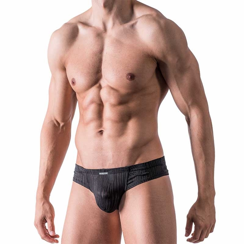 MANSTORE SLIP push-up PROPAGANDA Party M454 Klassisch black