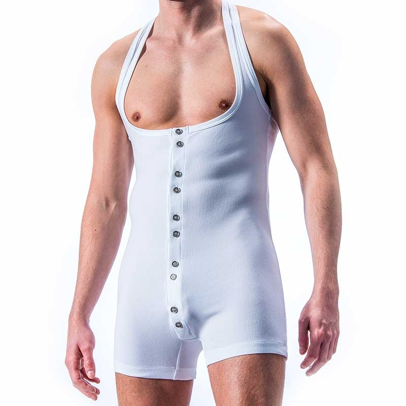 MANSTORE BODY hot WORKOUT JIM Athletik M311 Aktivwear white