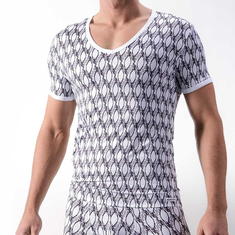 MANSTORE T-SHIRT regular M325 white