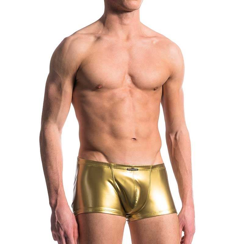 MANSTORE PANTS hot Club GOLD DIGGER Disco M420 Lack GoGo gold