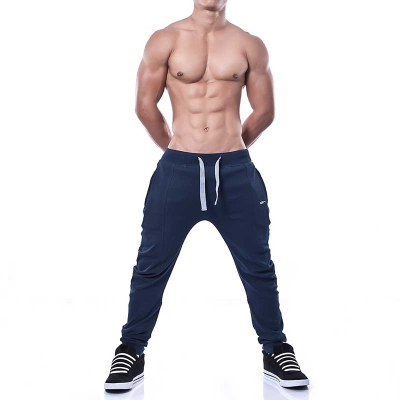 GABRIEL HOMME SWEATPANTS modern HUGO Action Time GH-3-7010 Sportswear navy