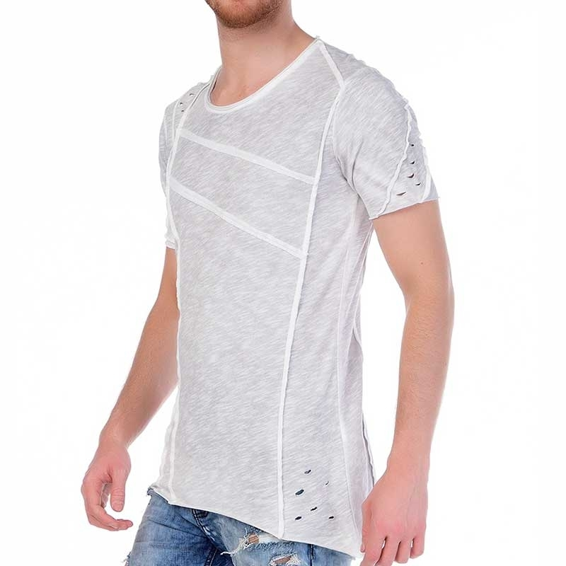 RED BRIDGE T-SHIRT M1072 mit dekorative Paspel