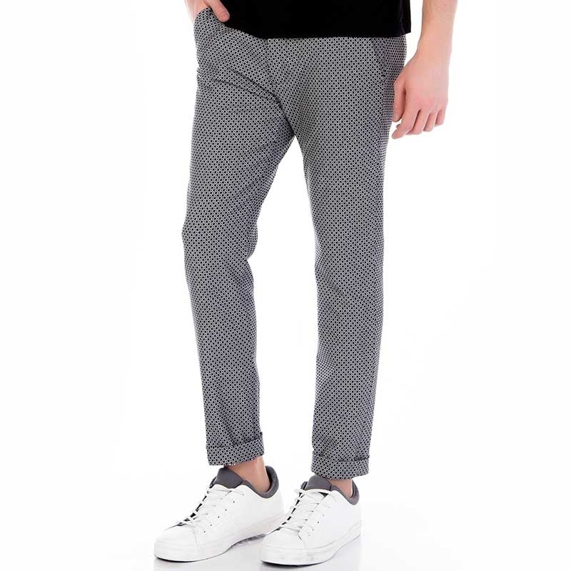 RED BRIDGE Chino HOSE regular PATTERN JAM Mode M4063 Mainstream black-white