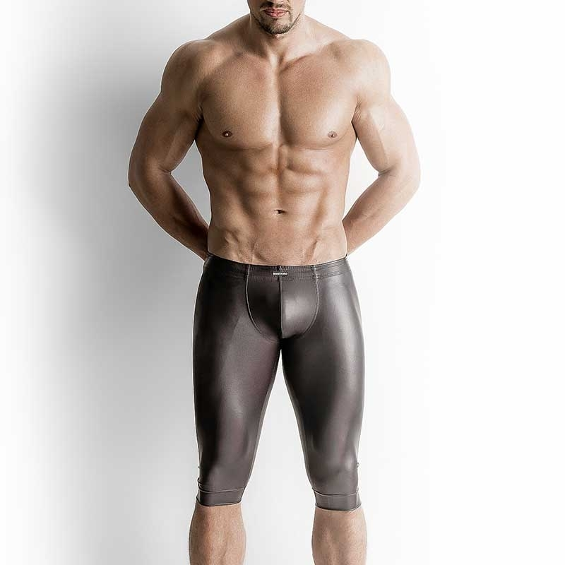 MANSTORE PANTS Hot SHORT LEGGINGS Wetlook M510 Football black