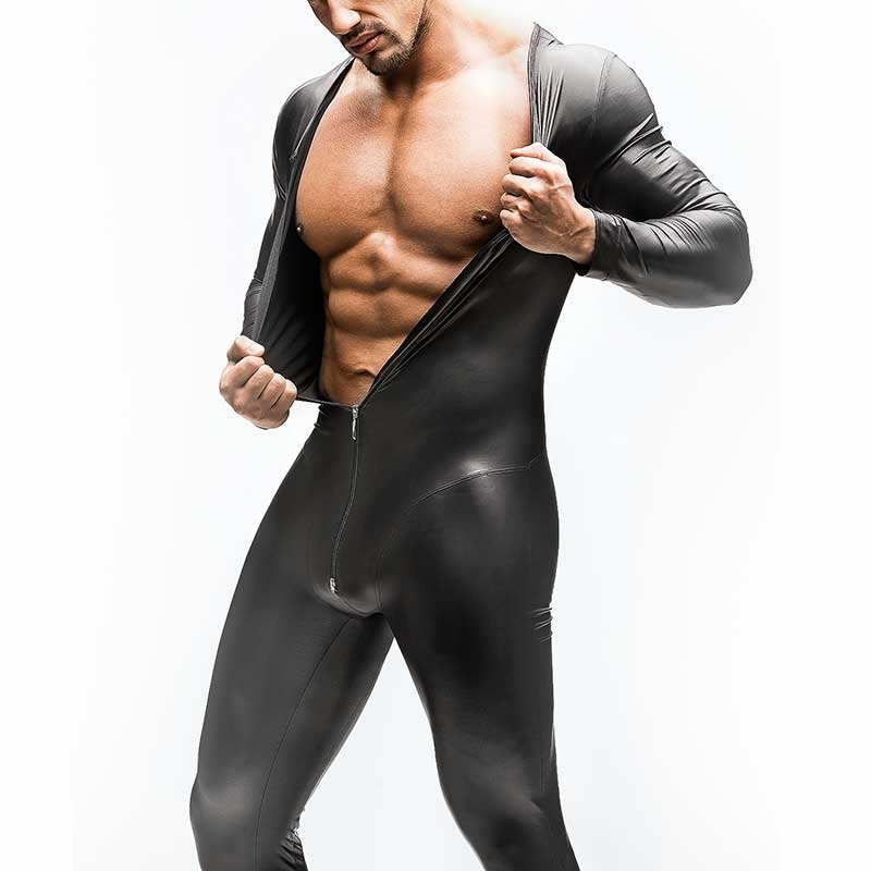 MANSTORE wet BODY Hot FULL BODY long arm M510 Zipper black