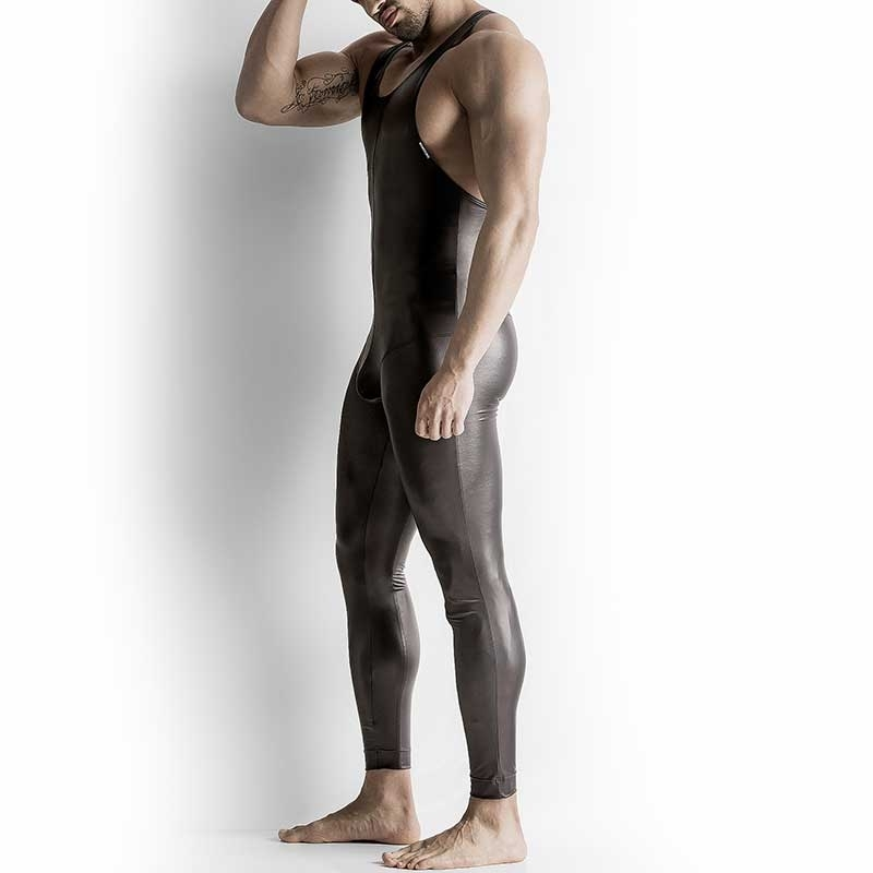 MANSTORE BODY Hot FULL BODY LEDER Zip M510 Tank black
