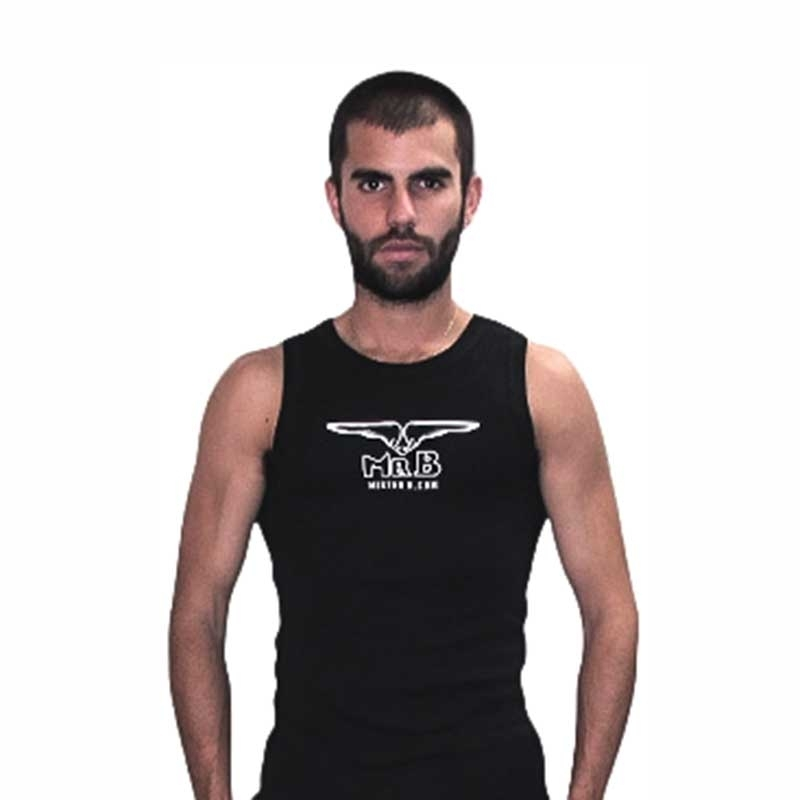 MISTER B TANK TOP regular CLASSIC MR. B Basic MB-401702 Athletik Wear black