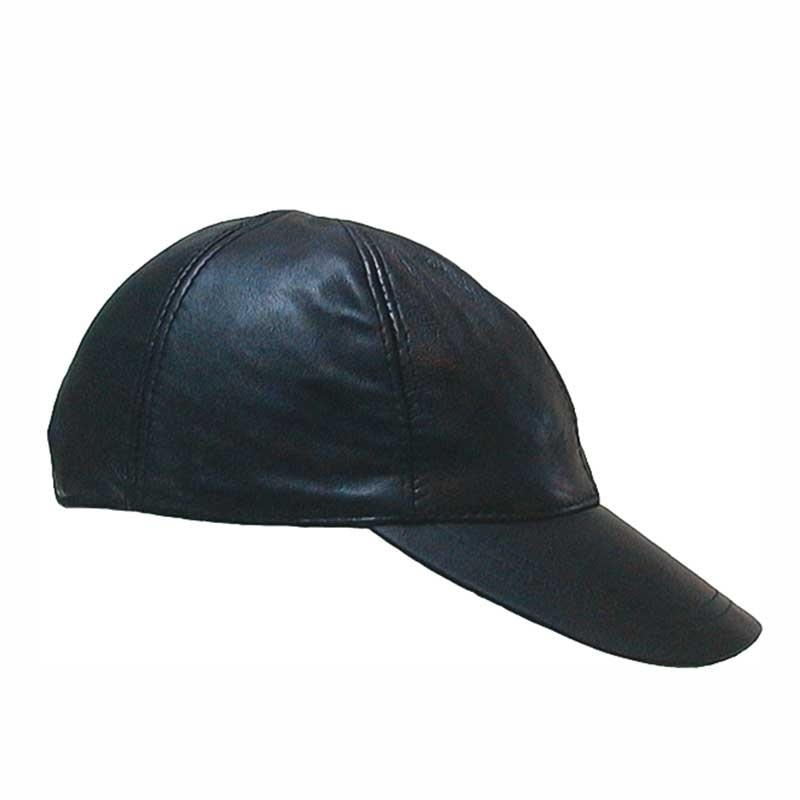 MISTER B CAP hot FETISH BALL Leather MB-450100 Folsom Look black