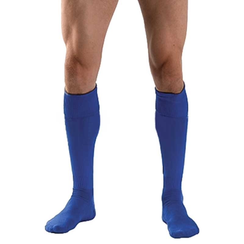 MISTER B FOOTBALL SOCKS regular BASIC ATHLETE Active MB-820711 Outdoor Play Time blue