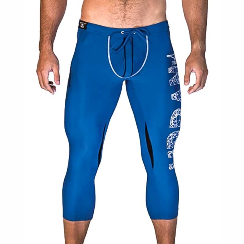 MISTER B LEGGINGS hot WEHO CLUB Leggings MB-821412 Urban Wear blue