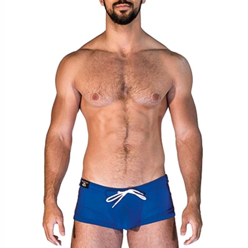 MISTER B SWIM PANTS hot VENICE BEACH Sommer Swim MB-821512 Strand Wear blue