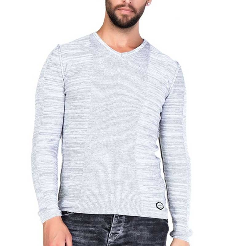 CIPO & BAXX PULLOVER CP121 mit Farbmischung