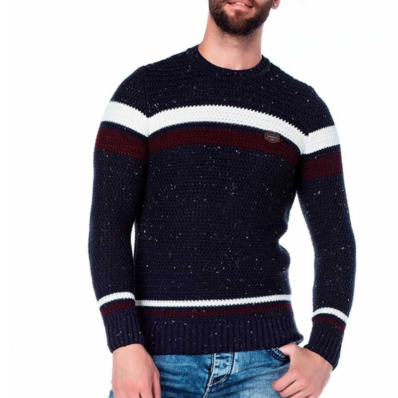 CIPO & BAXX SWEATER CP122 with color spots