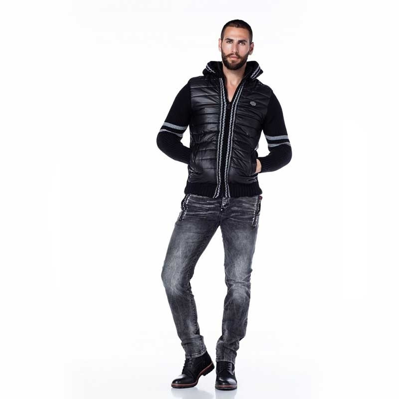 CIPO & BAXX CARDIGAN CP126 with down padding