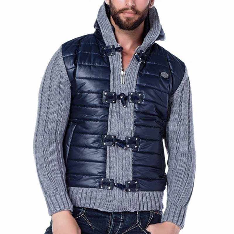 CIPO & BAXX CARDIGAN CP139 with buckles