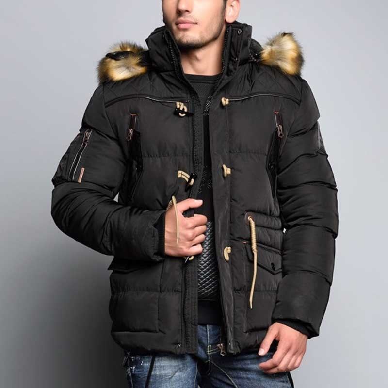 CIPO & BAXX JACKET CM107 with winter fur