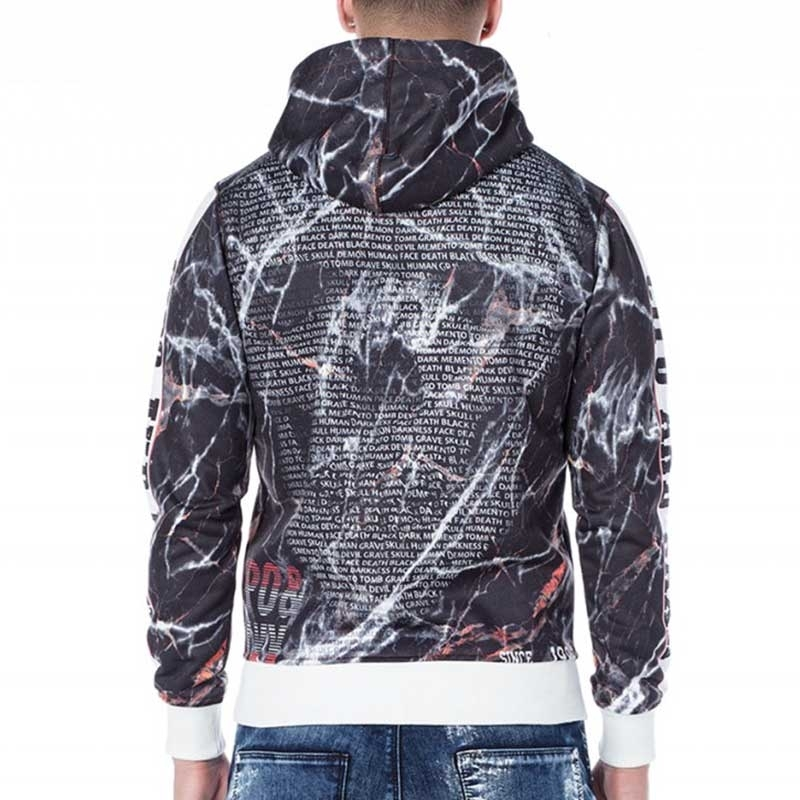 CIPO & BAXX HOODIE CL169 with skull print