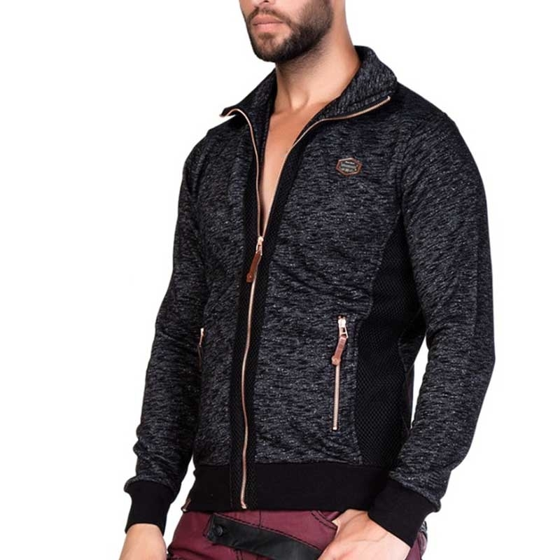 CIPO & BAXX JACKET CL172 flecked fabric