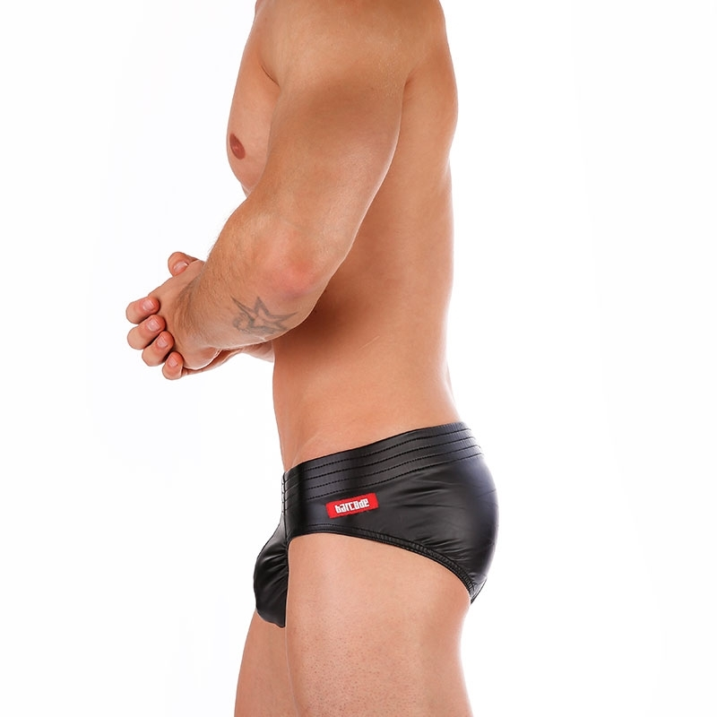 BARCODE Berlin SLIP hot RANDY Wet Look Club 91250 Fetisch Wear black