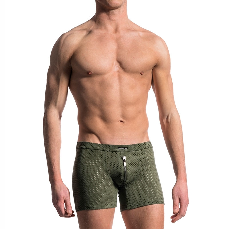 MANSTORE PANTS comfort BOXER FORCE Zipp M603 Urban Wear olive