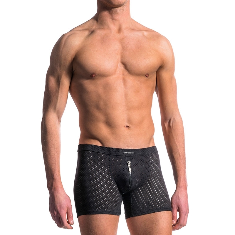 MANSTORE PANTS M603 with designer mesh fabric
