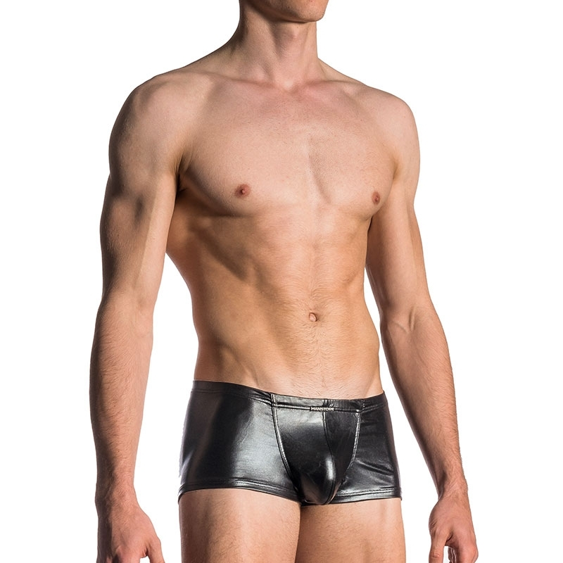 MANSTORE wet PANTS M107 in wet look black
