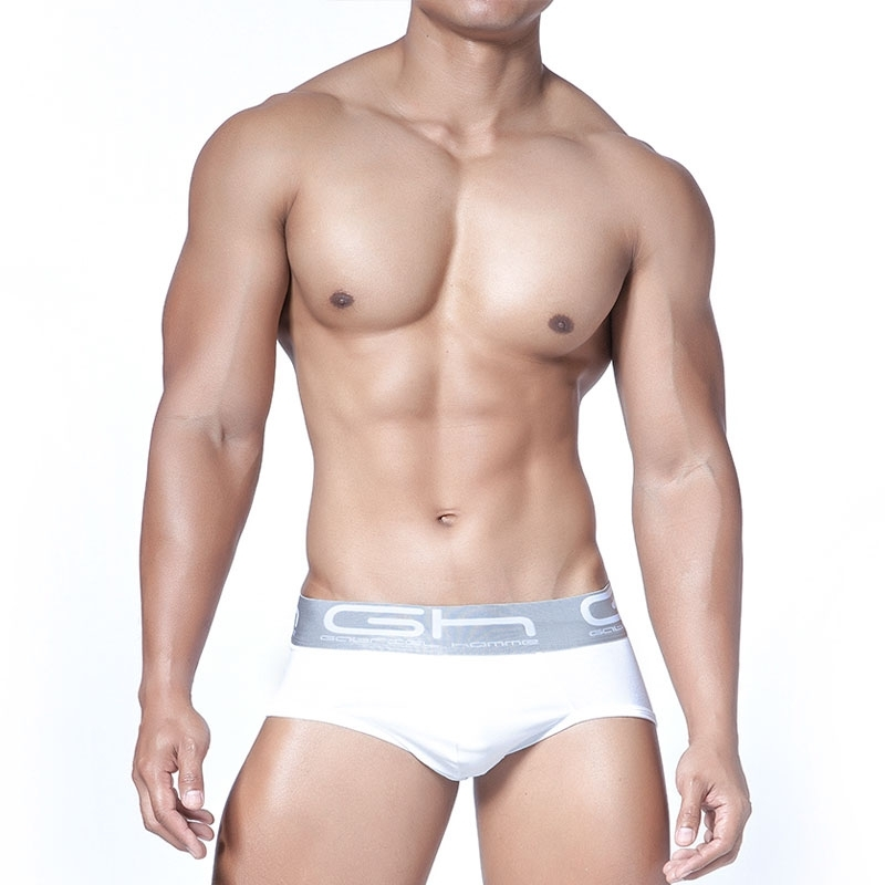 GABRIEL HOMME BRIEF regular GRANDE Everyday GH-2-9009 Pure Athleticwear white