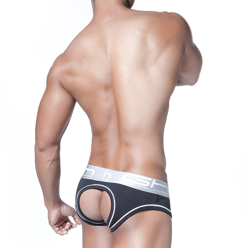 GABRIEL HOMME Brief hot FLASH Backless GH-2-9317 Darkroom Clubwear black